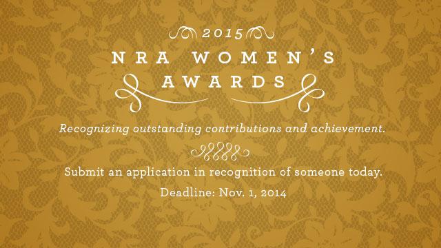 2015 NRA Women's Awards