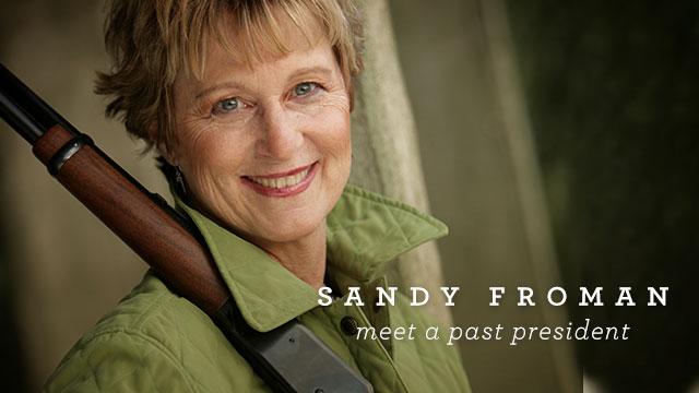 Armed & Fabulous: Sandy Froman