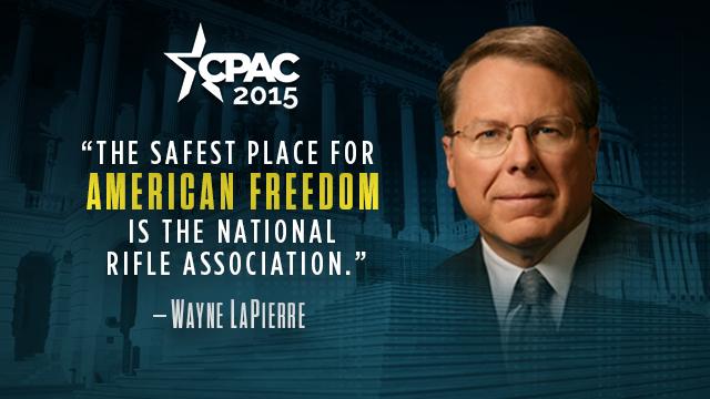 CPAC 2015: Wayne LaPierre