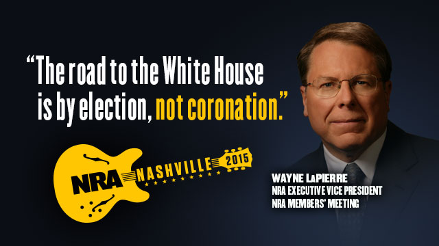 Wayne LaPierre: 2015 NRA Members' Meeting