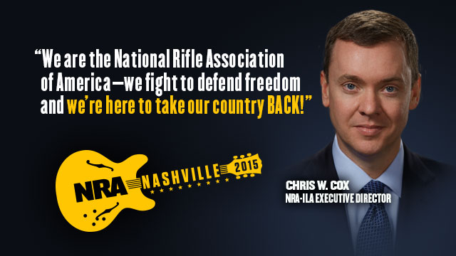 Chris W. Cox: 2015 NRA Members' Meeting
